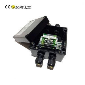 Boîtes de Jonction ATEX en GRP Zone 2,22