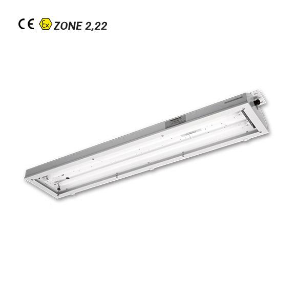 Luminaire Fluorescent ATEX EXP 08