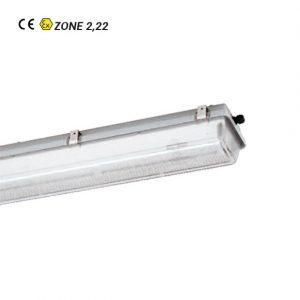 Luminaire fluorescent ATEX nD161-nD162