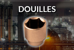Inpratex - Outils Antidéflagrants - DOUILLES
