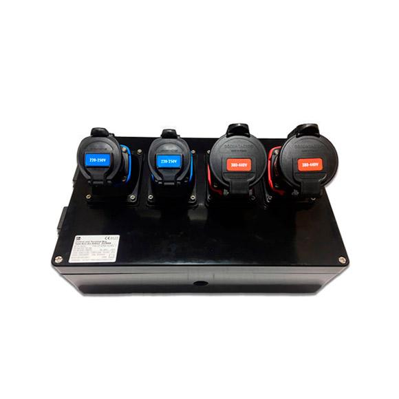 Boitier Multiprises ATEX 4 Prises