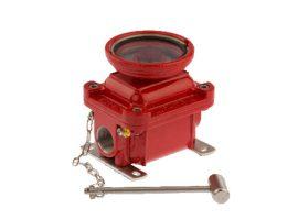 Boitier Bris de Glace pour Alarme Incendie ATEX